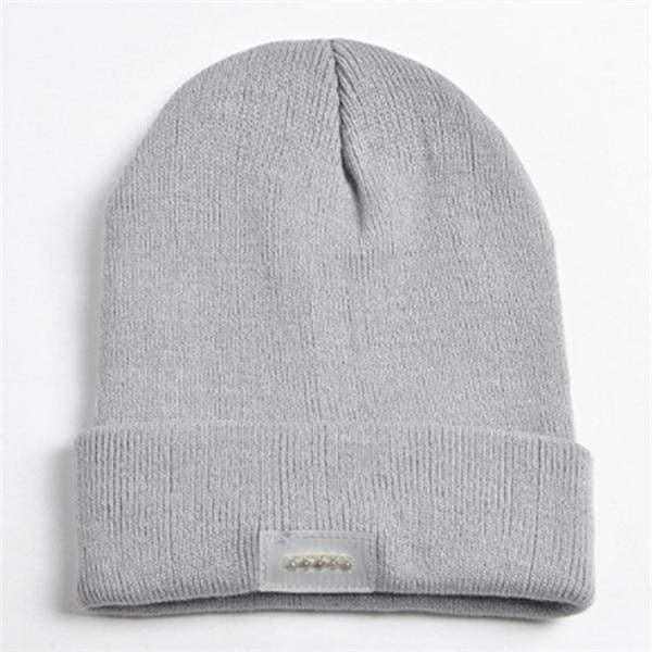 Knit Tactical Beanie Hat (Unisex) Gray Knit Tactical Beanie Hat trendpicky