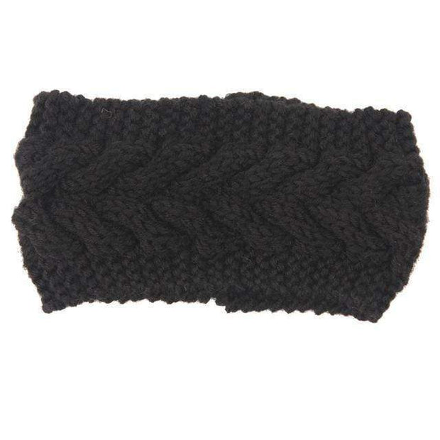 Knitted Ear Warmer Headwrap Clothes trendpicky