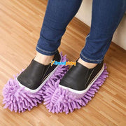 Lazy Mop Slippers Purple Lazy Slippers trendpicky