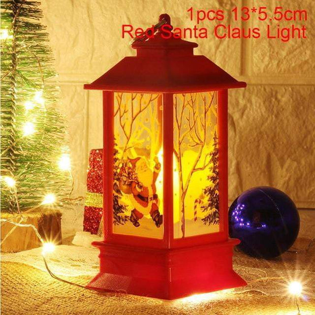 Led Christmas Candles Red Santa Claus trendpicky
