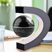 LED Floating Globe Lamp Black Lamp trendpicky