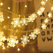 LED Holiday Snowflakes 3m-warm white trendpicky