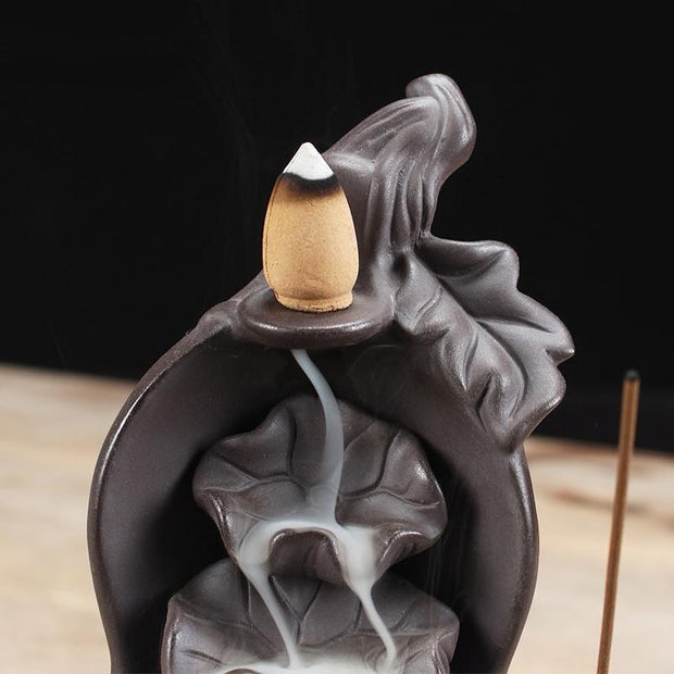 Lotus Fountain Incense Holder Lotus Fountain Incense Holder trendpicky