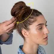 Magic Bun Maker Medium Brown Health & Beauty trendpicky