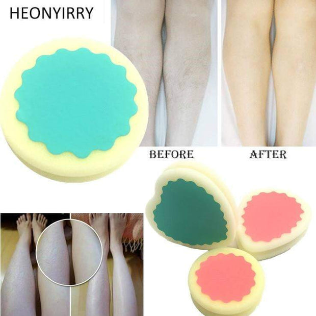 Magic Painless Hair Removal Sponge Hair Removal Sponge trendpicky