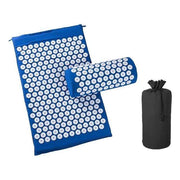 Memory Foam Acupressure Mat with Pillow and Travel Bag Bonus Blue / China Home trendpicky