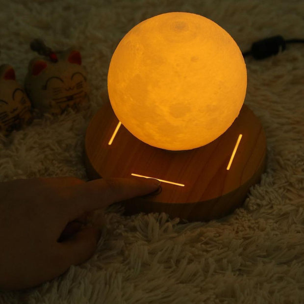 Mesmerizing Levitating Moon Lamp Lamp trendpicky
