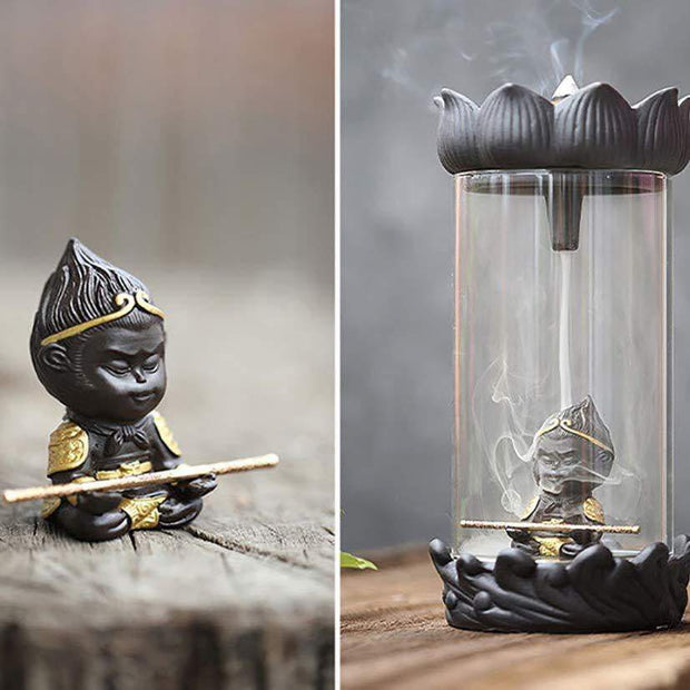 Monkey King Incense Burner trendpicky
