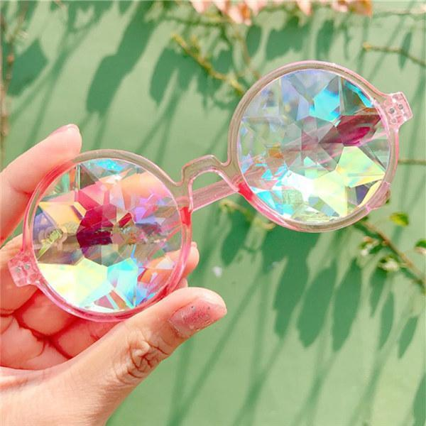 Motley Crystal Glasses Pink Glasses trendpicky