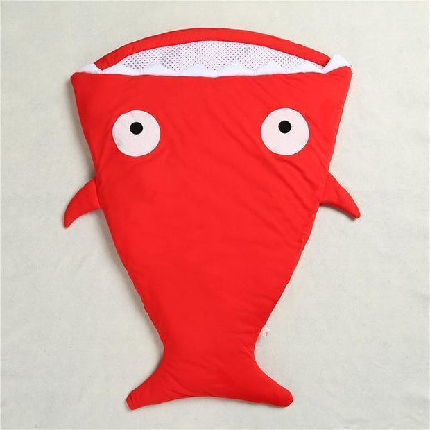 Mr. Shark Baby Sleeping Bag Red Baby Sleeping Bag trendpicky
