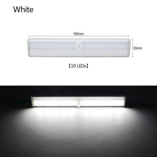 Multi-Use Motion Sensor LED Lights 10 Led Cool White trendpicky