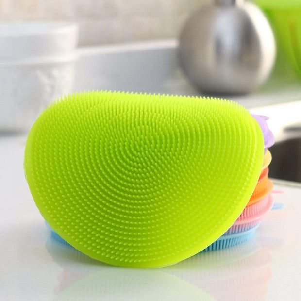 Multipurpose Anti-Bacterial Sponge Green Multipurpose Anti-Bacterial Sponge trendpicky