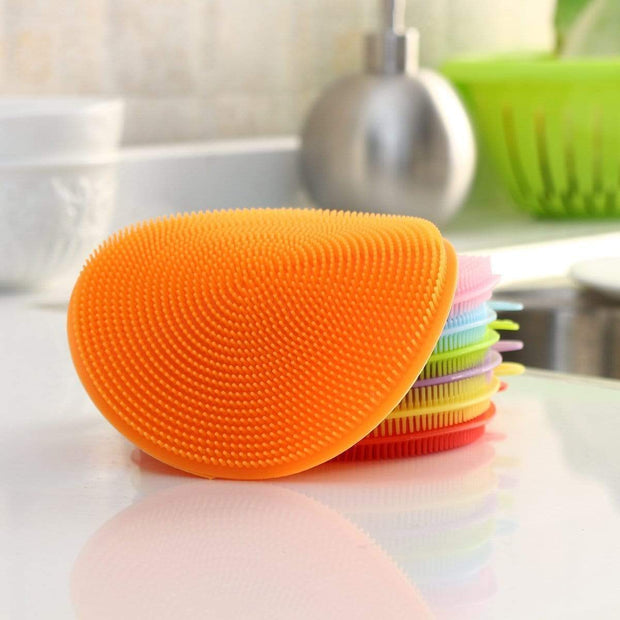Multipurpose Anti-Bacterial Sponge Orange Multipurpose Anti-Bacterial Sponge trendpicky