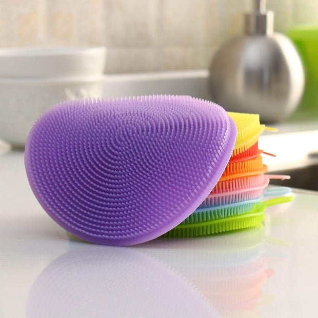 Multipurpose Anti-Bacterial Sponge Purple Multipurpose Anti-Bacterial Sponge trendpicky