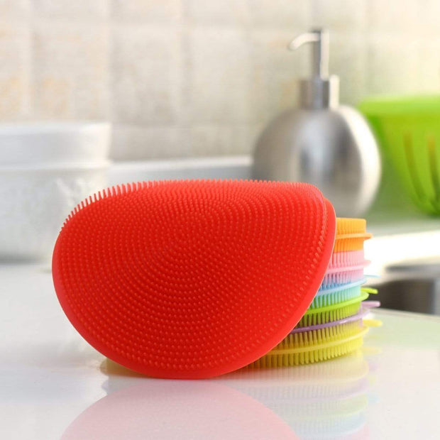 Multipurpose Anti-Bacterial Sponge Red Multipurpose Anti-Bacterial Sponge trendpicky