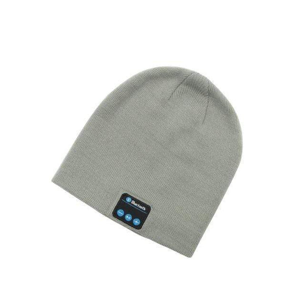 Music Bluetooth Beanie Gray Music Bluetooth Beanie trendpicky
