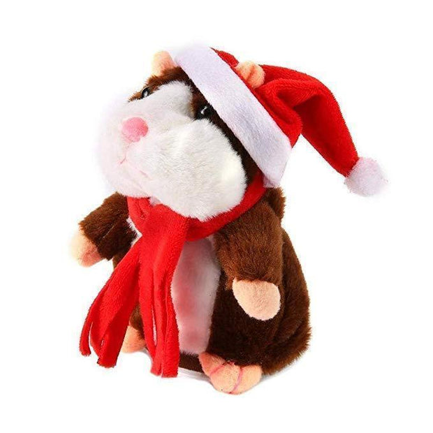 My Talking Pet Hamster Brown-Christmas Limited Edition My Talking Pet Hamster trendpicky