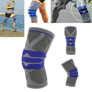 Nylon Full-Support Knee Brace (1PC) Grey / L Knee Supoort trendpicky