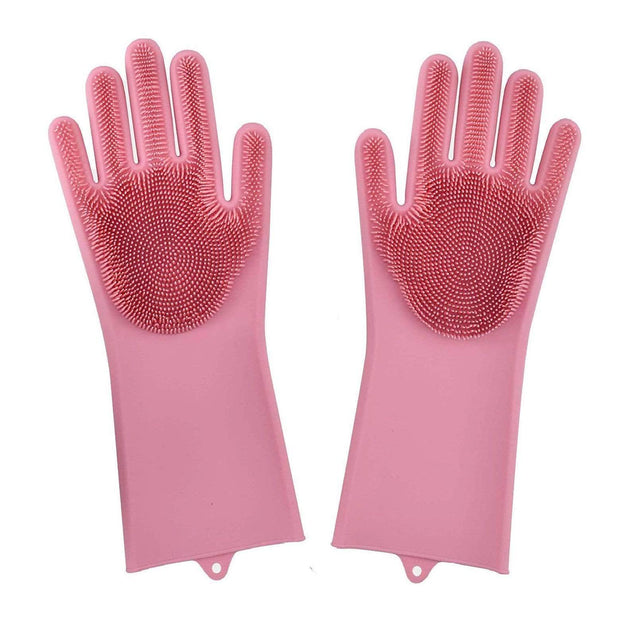 Original Magic Dishwashing Gloves (BPA Free) Pink Magic Dishwashing Gloves trendpicky