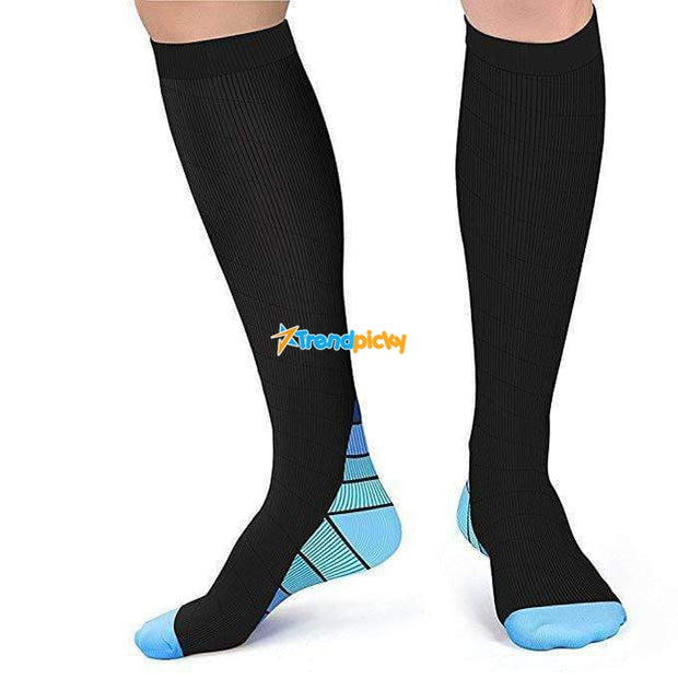Perfect Fit Compression Socks L/XL (50-52) / Blue Perfect Fit Compression Socks trendpicky