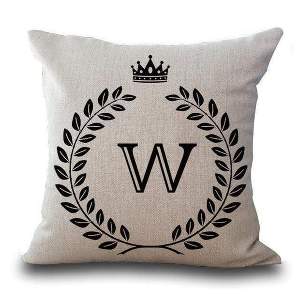 Personalized Alphabet Pillow Cover W Pillow Cover trendpicky