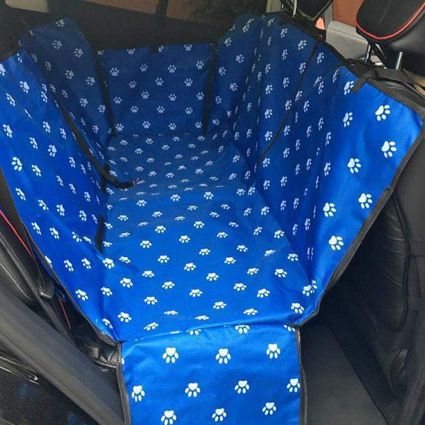 Pet Car Seat Cover Blue trendpicky