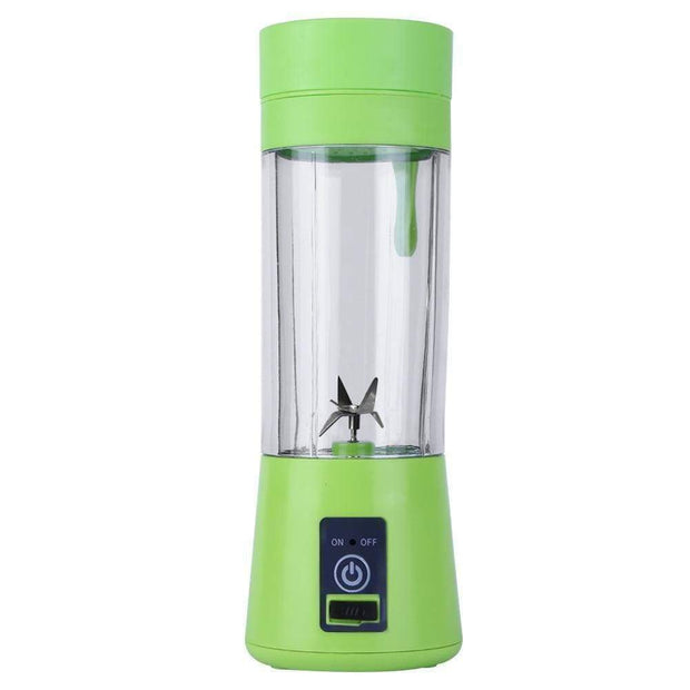 Portable Bottle Blender Green Portable Bottle Blender trendpicky