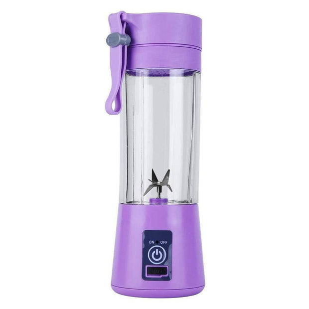 Portable Bottle Blender Purple Portable Bottle Blender trendpicky