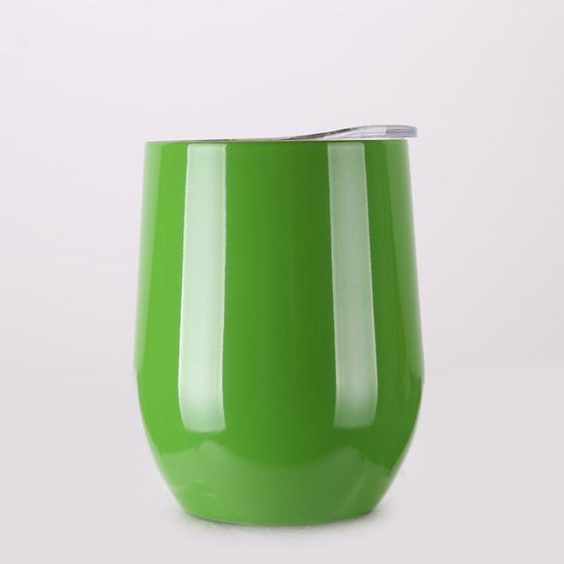 Portable Insulated Wine Cup Green DrinkUp Portable Insulated Wine Cup trendpicky