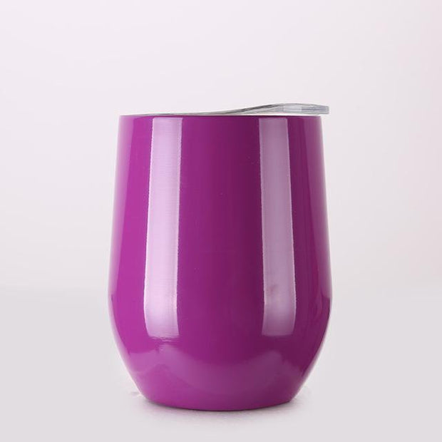 Portable Insulated Wine Cup Purple DrinkUp Portable Insulated Wine Cup trendpicky