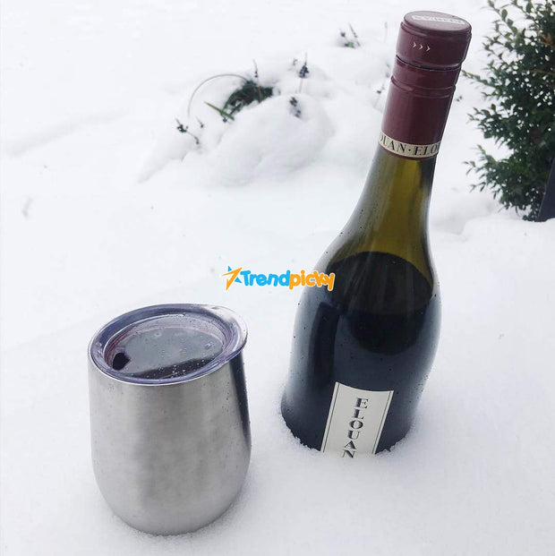 Portable Insulated Wine Cup DrinkUp Portable Insulated Wine Cup trendpicky