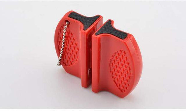 Portable Knife Sharpener Red Knife Sharpener trendpicky