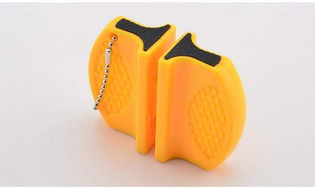 Portable Knife Sharpener Yellow Knife Sharpener trendpicky
