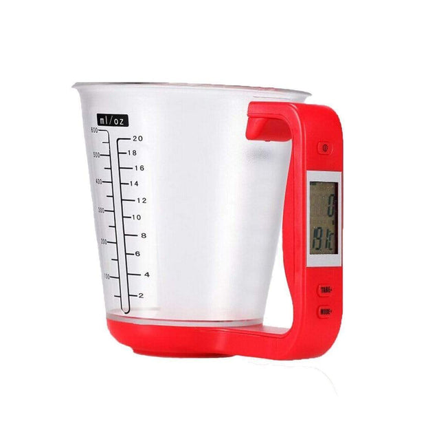 Smart Measuring Cup Red Smart Measuring Cup trendpicky