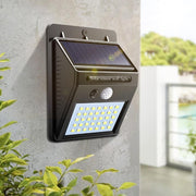 Solar Lamp Wall Sensor Light Black Solar Lamp Wall Sensor Light trendpicky