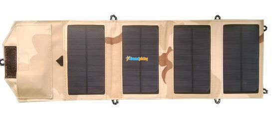 SolarPan 8W Portable Solar Panel Charger Desert Camouflage SolarPan 8W Portable Solar Panel Charger trendpicky