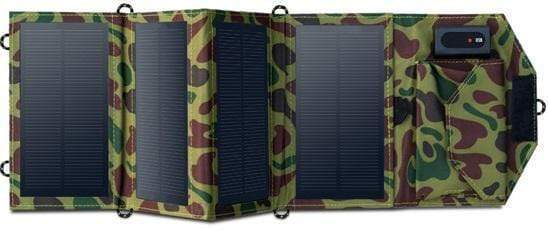 SolarPan 8W Portable Solar Panel Charger Green Camouflage SolarPan 8W Portable Solar Panel Charger trendpicky