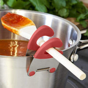 Spatula Holder Pot Clip Red Spatula Holder Pot Clip trendpicky