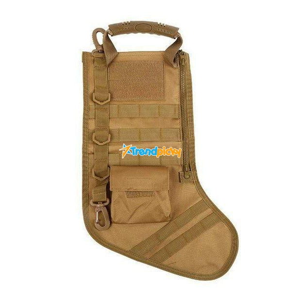 Tactical Christmas Stocking Brown Tactical Christmas Stocking trendpicky