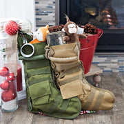 Tactical Christmas Stocking Green Tactical Christmas Stocking trendpicky