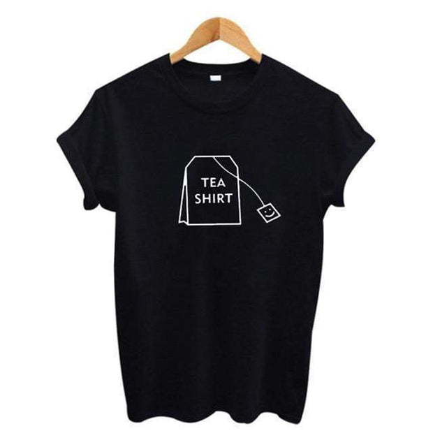 Tea Shirt Black / S T-Shirt trendpicky