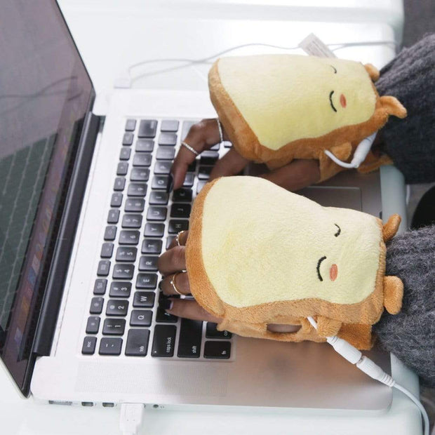 Toasty USB Hand Warmers Smile Toasty USB Hands Warmer trendpicky