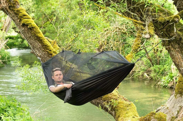 Treehouse Mosquito Net Hammock Black Others & Gifts trendpicky