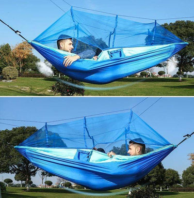 Treehouse Mosquito Net Hammock Blue Others & Gifts trendpicky