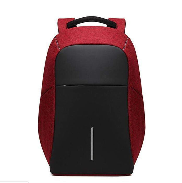 Ultimate City Travel Backpack Red Backpack trendpicky