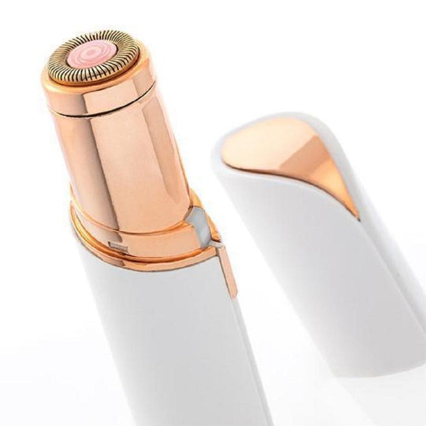 USB Gold Painless Facial Hair Remover White/Gold USB Gold Painless Facial Hair Removal trendpicky