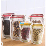 Vintage Jar Reusable Storage Bags 10-Pack Set of 10 Vintage Jar Reusable Storage Bags 10-Pack trendpicky