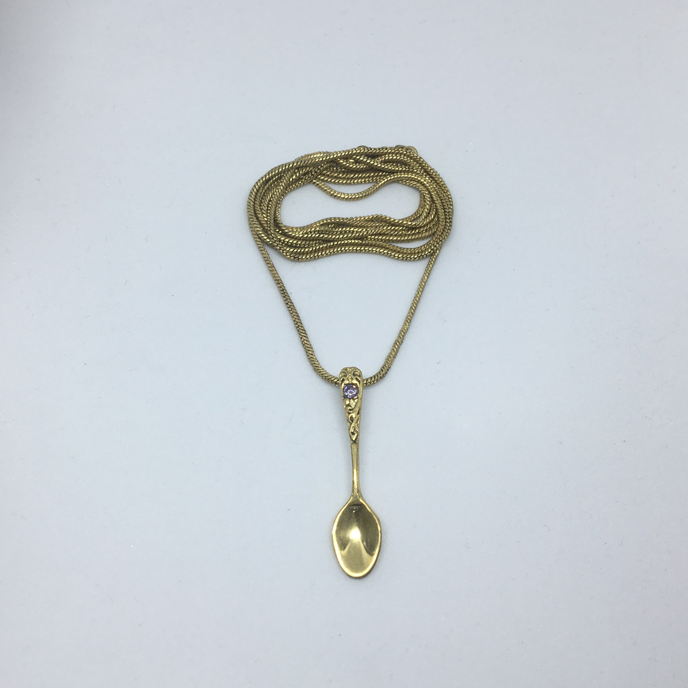 spoon necklace from ministry of style