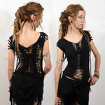 Orara festival knotwork lace top