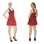 Harmony Tartan Swing Dress